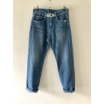 STRAIGHT loose DENIM TYPE A ダメージ加工